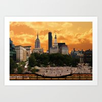 The Union Square - New Y… Art Print