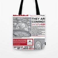 The News Tote Bag