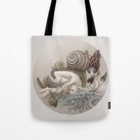 Tote Bag featuring Disappear by Ruta13