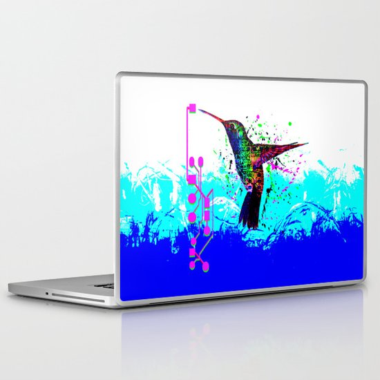 hummingbird Program Laptop & iPad Skin