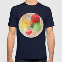 The Round Ones Mens Fitted Tee Navy SMALL