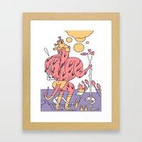 Waz Munster  Framed Art Print