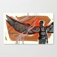 My Wingman Canvas Print
