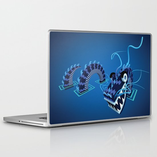 Dragon - Water Laptop & iPad Skin