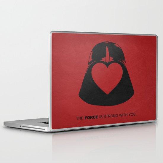Star Wars - Valentine Poster Laptop & iPad Skin