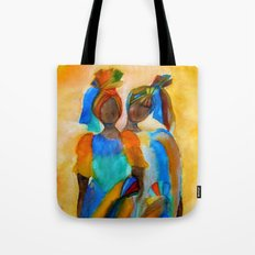 African Costumes Tote Bag