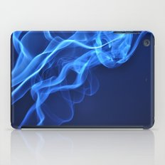 smoky blue iPad Case