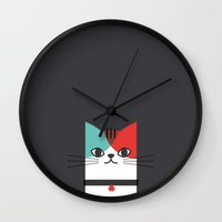 A Cat! Wall Clock