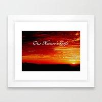 Morning Delight Framed Art Print