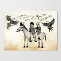 And You Will Return With… Canvas Print