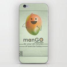 manGO iPhone & iPod Skin