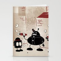 Smoke Break At The Clink… Stationery Cards
