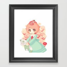 pixel cakeroll Framed Art Print