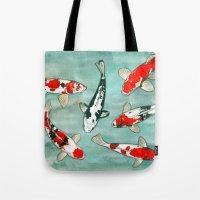 Le Ballet Des Carpes Ko�… Tote Bag