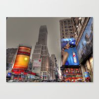 New York Times Square Canvas Print