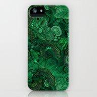 Malachite iPhone (5, 5s) Slim Case