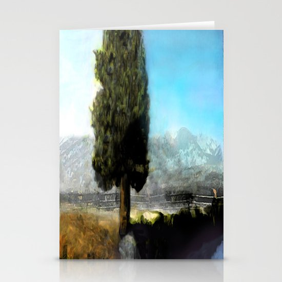 Wyoming Mystic Stationery Card