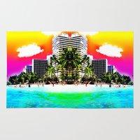 Waikiki Beach Part II Rug