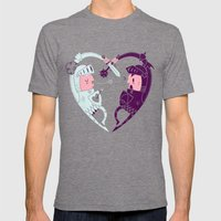 All Is Fair In Love And War Mens Fitted Tee Tri-Grey SMALL