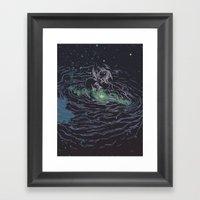 Universe of Love Framed Art Print
