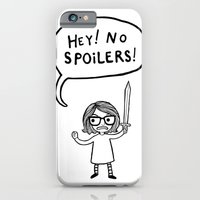 No Spoilers iPhone 6 Slim Case