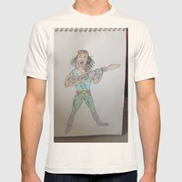 Bootleg  Series: Apocalypse Man Mens Fitted Tee Natural SMALL