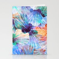 Ocean seashells Stationery Cards