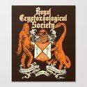 Royal Cryptozoological Society Canvas Print