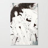 Duet. Pt.4 Canvas Print