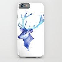 Blue Antlers iPhone 6 Slim Case