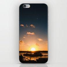 Sun is Going Down iPhone & iPod Skin