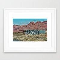 Lamb of the Road Framed Art Print