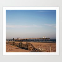 OceanCity;NJ;Fishing Pier Art Print