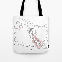 Sleeping Creatures Tote Bag
