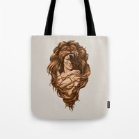 Lion Queen Tote Bag
