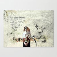 Mrs Belfort Canvas Print