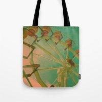 Wheel Carousel Tote Bag