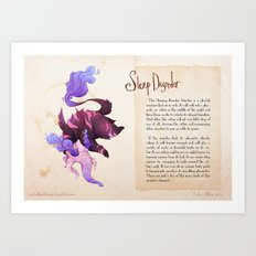 Real Monsters- Sleep Disorder Art Print