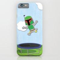 SW Kids - Boba Fett Jump iPhone 6 Slim Case