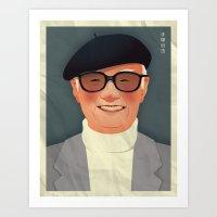 Osamu Tezuka Art Print