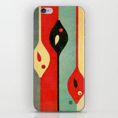 Three Fish In My Mind iPhone & iPod Skin