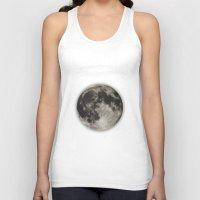 The Moon  [Sans Type] Unisex Tank Top