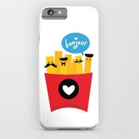 french iPhone & iPod Cases featuring French Fries by Reg Silva / Wedgienet.net