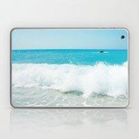 Minimal Turquoise Ionian… Laptop & iPad Skin
