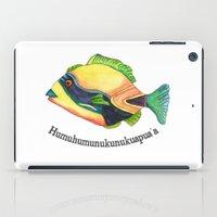 H Is For Humuhumunukunuk… iPad Case