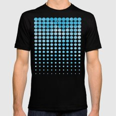 Snow SMALL Black Mens Fitted Tee