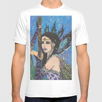 Royal Wings Mens Fitted Tee White SMALL
