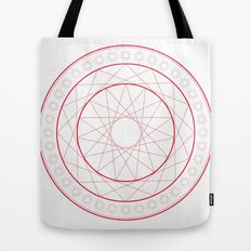 Anime Magic Circle 5 Tote Bag