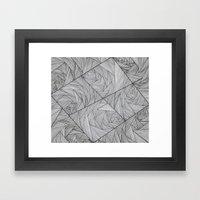 2829 Lines Framed Art Print