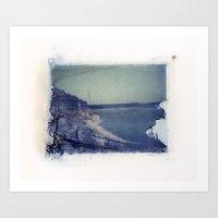 Lake Russell Polaroid Tr… Art Print